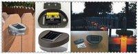 Wholesale solar lamps for garden light+solar led for garden decoration+free shipping