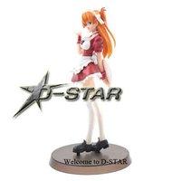 Free Shipping Evangelion Soryu Asuka Langley Action Figure Model 7.5 Inch