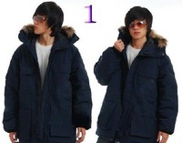 Мужской пуховик Top quality Brown Men's Cold Jacket coat down jackets coat
