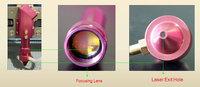 Запчасти для лазерного оборудования ZnSe Co2 Laser Focus Lens Dia. 20mm FL 38.1mm / 50.8mm / 63.5mm / 76.2mm / 101.6mm / 127mm