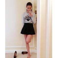 Женские толстовки и Кофты 2013 new women winter hoodies round neck long-sleeved pullover eyed thick cotton Slim sweater