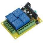 Дистанционный выключатель DC 12V Wireless Remote Control Switch & Four Keys Universal Wireless Remote Control AK-RK04S-12+AK-BF04