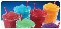 Автомат по продаже напитков CE approved Yellow body slush ice machine