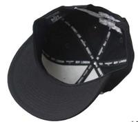 Женская бейсболка Hip hop street tide people adjustable flat along the baseball hip-hop bboy hip-hop cap men and women plate hat