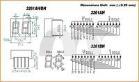 """Светодиодный дисплей 10PC/Lot 0.56"""" 2 Bit Common Cathode Digital Tube Digital Display SKU38002"""