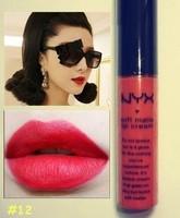 Губная помада NYX soft matte lip cream/liquid lipsticks/lip gloss/lip smacker brand makeup cosmetics velvet 12 colors