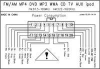 "Автомобильный DVD плеер universal 2 two Din 7"" inch Car DVD player with GPS Navigation, audio Radio stereo, Bluetooth/TV, video, HD touch screen"