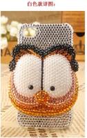 Чехол для для мобильных телефонов 2 COLORS bling rhinestone Garfield case for iphone 5 rhinestone bling cell phone case for iphone 4/4s
