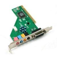 Звуковая карта 4 Ch C-Media Audio PCI Internal Sound Card Adapter