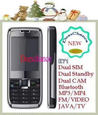 Russian Menu & Russian keyboard mini E71 TV Mobile Phone (Russian Only)