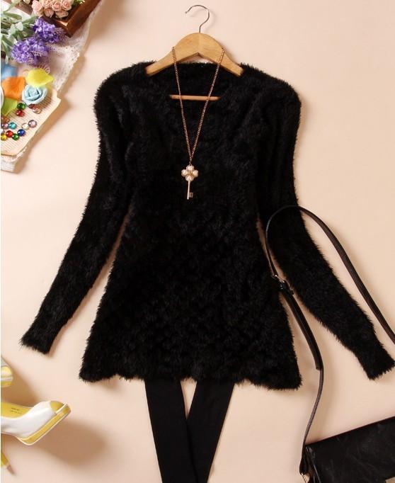 Пуловер с орнаментом доставка