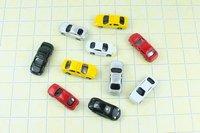 Игрушечная техника и Автомобили N SCALE 100pcs 1:160 N SCALE model car for train layout