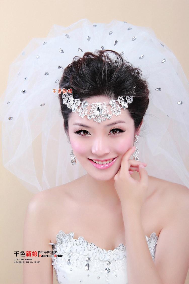 Wholesale Bride Crown Petticoat Glove Fashion Veil Bridal Veils For ...
