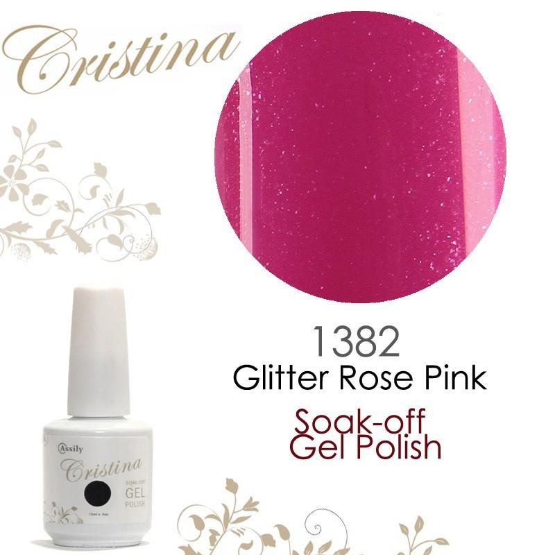 1382 Glitter Rose Pink
