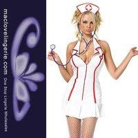 ml5062 сексуальная медсестра взрослый костюм устанавливает с крышкой сексуальная девушка косплей равномерное платье
