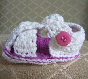 Crochet Baby Booties Pattern Sheepskin Sole