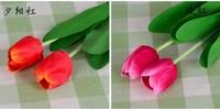 Искусственные цветы для дома purple tulip flower Artificial Flower