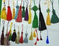 Кисточки текстильные 12 different colors 120PCS / LOT tassel for hanging A1