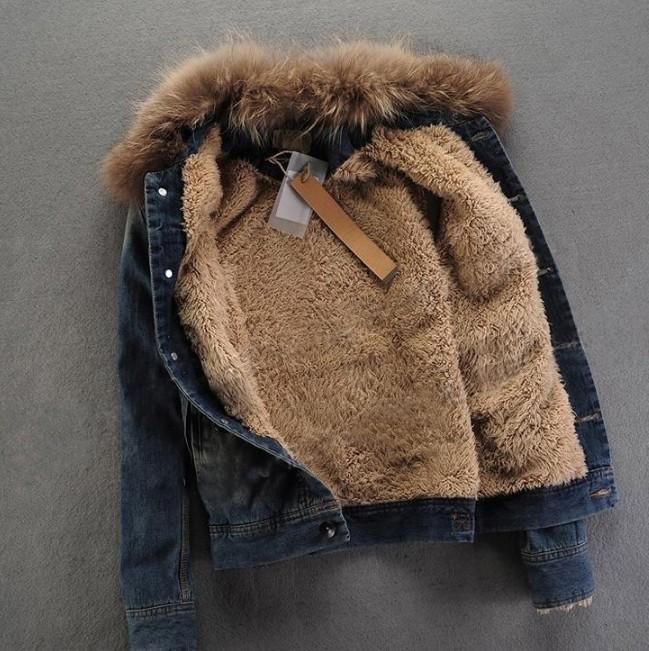 Купить Джинсовую Куртку На Меху Мужскую Зимнюю Недорого