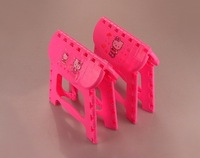 Товары на заказ Hello Kitty slip folding stool/loding capacity is about 75g/Kitty Leisure Folding Chair Color Pink