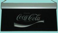 Рекламная световая витрина Coca sign 251