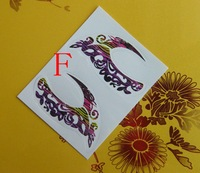 Mix 14 models The new listed of the Eye Liner Sticker Eyebrows Stickers Eyes Sticker Shadow 100 PCS