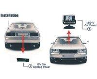 Система помощи при парковке Car Rear View Backup Camera for MAZDA 6, 2002-2008 original cars, 170degree angel, waterproof