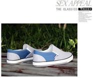 Мужская обувь 2013 autumn Men's shoes Fashion leisure convenient low shoes Korean breathable casual Canvas shoes