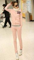 Женские толстовки и Кофты women hooded pants suit Lady coat active casual clothes set sportwear Women sports tracksuits