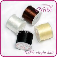 Микрокольца для наращивания волос Elastic hair line 1  crystal line