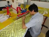 Потолочная плитка Langyu  003