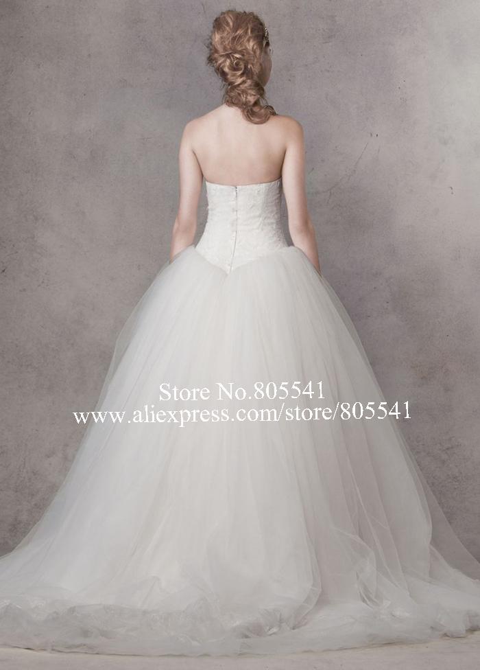 envío gratis por encargo vestido de fiesta novia capilla tren tul ...