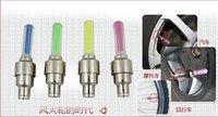 Освещение Energy saving 50pcs/lot LED wheel light on sale LED Flash Tyre Wheel Valve Cap Light shpping