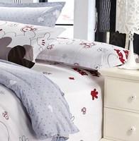 Постельные принадлежности Printed BEDDING, queen size cartoon beddingSet