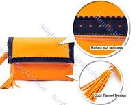 3PCS/LOT female bags day clutches women bags handbag lady pu 3 color leather messenger shoulder bag 7153