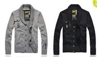 Мужской кардиган 2012 Fashion men's sweater outwear jackets for men Cardigan hoodies 6002