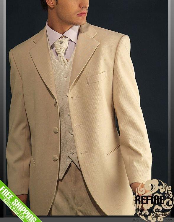 Tan Color TUXEDO Wedding Suitjpg