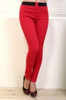 Женские брюки Newly Arrived 2012's New Fashion Sexy Women's leggings, Mid Tight Leggings pants ladies trousers, Hight quality 8 color in stock