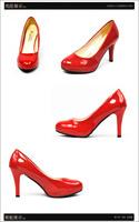 Туфли на высоком каблуке Hot sell lady fashion pump shoes heels work shoes woman high heels 4 colors