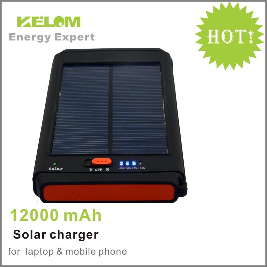 Power Bank Coosen Solar на солнечной батарее 20000 mAh