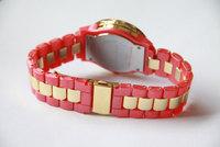 Наручные часы 5colors Ladies Watch business luxury Quartz watches Fashion Gold dial 3 sub-dials decoration Woman dropship LW08