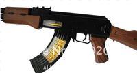 Manufacturers selling electric toy guns long 68 cm sub-machine gun light machine gun voice vibration