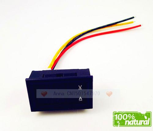 Wholesale Yb27va Dc 4.5 30v / 10a 12v,24v Car Volt/Amp Meter Digital ...