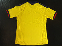 TOP Thailand quality  Columbia  Falco  home  2011- 2013  Soccer  jerseys  football shirt    Free Shipping