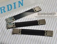 30pcs 8,5 см серебро металл кошелек внутренний каркас высота качества Бобо diy