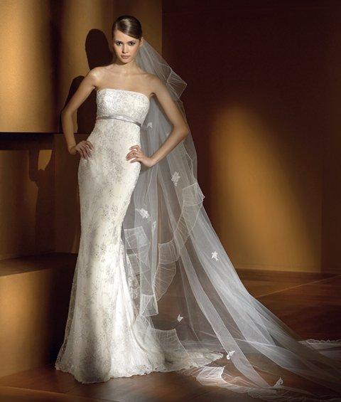 2015 New White/Ivory Fishtail Shitsuke Wedding Dress