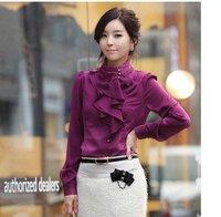 Женские блузки и Рубашки 2011 falbala :, S, M, L, xL,