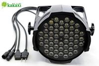Освещения для сцены High Power Light 54 3W LED PAR Stage Light Lamp wireless remote control DHL FedEx