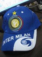 Товары для занятий футболом AC milan fans black - red hat adjustable tightness