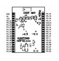 Интегральная микросхема Module for iBeacon + Bluetooth Low Energy Wireless module NRF51822 + 32-bit cortex M0+256K flash